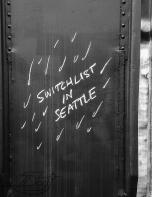 Switchlist in Seattle